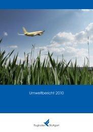 Umweltbericht 2010 - Flughafen Stuttgart
