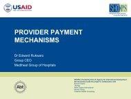 Provider Payment Mechanisms.pdf - (SHOPS) project
