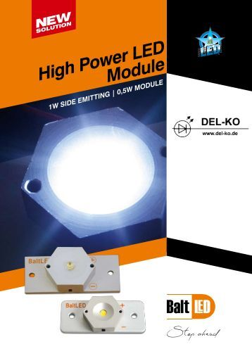High Power LED Module - LED Beleuchtung