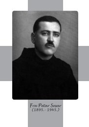 Fra Petar Sesar (1895.- 1945.) - mr. sc. Drago Martinović