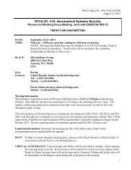 September 23-27, 2013 - RTCA