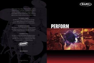 2005 Mapex Drums Catalog