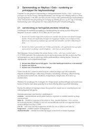 2 Sammendrag av Høyhus i Oslo - vurdering av prinsipper for ... - Plan
