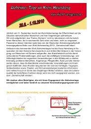 Demenz-Servicezentrum NRW Regio Aachen / Eifel