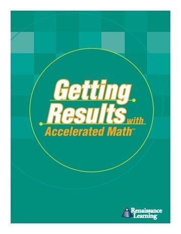 Accelerated Math™ - Lenoir County Public Schools