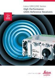 GRX1200 Brochure - Leica Geosystems
