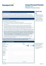 GPP - Shortened Application Form (for employed ... - Adviserzone