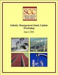 Salinity Management Study Update Workshop - National Water ...
