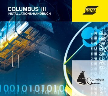 COLUMBUS™ III COLUMBUS.NETTM ... - ESAB Cutting Systems