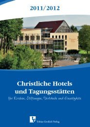 2011/2012 - Christliche Hotels und Tagungsstätten