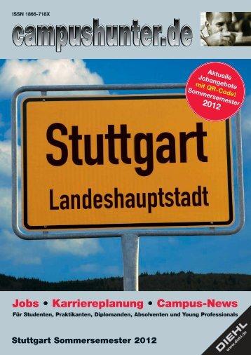 Ausgabe Stuttgart Sommersemester 2012 - campushunter.de