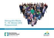 als PDF - Regionalstrategie Demografischer Wandel