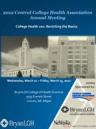 Annual Meeting - American College Health Association