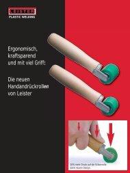 Handandrückrolle - Leister