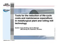 Tools for the reduction of life-cycle costs and maintenance ... - IIM