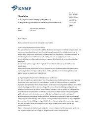Circulaire registratieplicht en EU-richtlijn prikaccidenten - KNMP