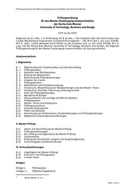 hs wismar thesis anmeldung
