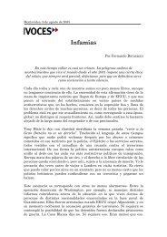 Infamias - Fernando Butazzoni
