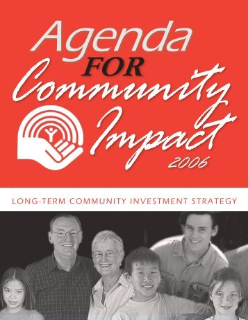 Agenda for Community Impact - United Way / Centraide Windsor ...