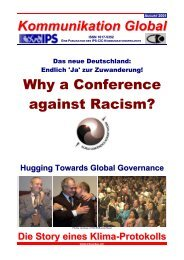 Why a Conference against Racism? - Global Perspectives