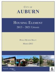 Public Review Draft - City of Auburn - State of California