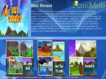 Hot Donut - RunMob