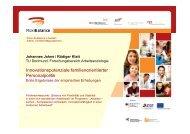 Innovationspotenziale familienorientierter Personalpolitik - Zeitschrift ...