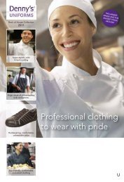 Professional clothing to wear with pride - Progastro
