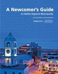 Newcomer's Guide - Halifax Regional Municipality