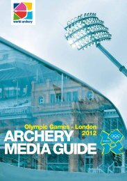 Olympic Archery Media Guide 2012 - FITA