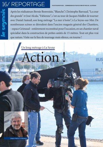 Un long métrage à La Seyne - La Seyne-sur-Mer