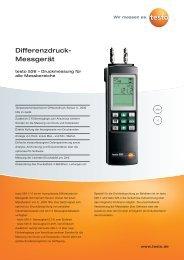 Differenzdruck- Messgerät - Aura Nord