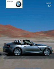 Online Version für Sach-Nr. 01 40 0 157 488 - © 10/03 BMW ... - Jokin