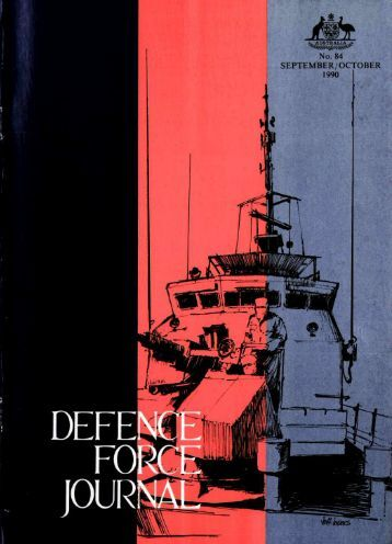 ISSUE 84 : Sep/Oct - 1990 - Australian Defence Force Journal