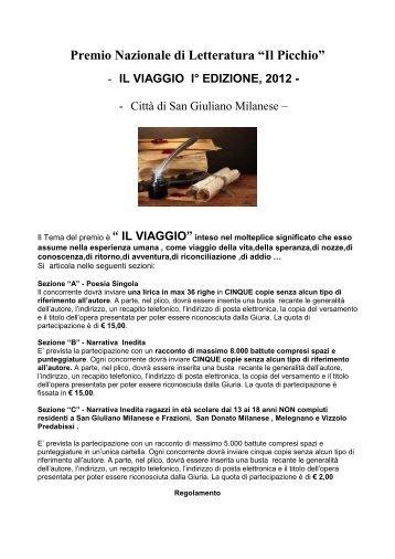 Premio Internazionale di Letteratura - Concorsi Letterari
