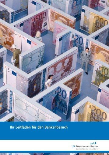 Ihr Leitfaden für den Bankenbesuch - Mittelstand in Bayern