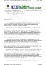 Community-acquired pneumonia in children: guidelines for ...