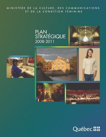 Plan stratégique - Secrétariat à la condition féminine Québec ...