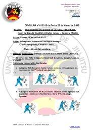 RANDOM ATTACKS 2012 - Federación Española A. de Jiu Jitsu y DA
