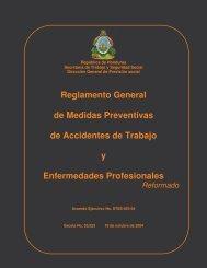 REGLAMENTO reformado STSS 053-04 - Observatorio de Recursos ...