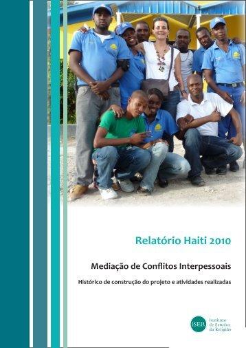 Relatório Haiti 2010