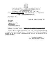 Circolare n. 139 Corsi di recupero Liceo Ghilarza - Isisghilarza.it