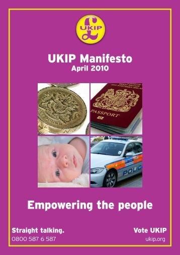 UKIPManifesto2010