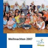 Weihnachten 2007 - Elias-Schrenk-Haus in Tuttlingen