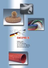DEIMEX GmbH Am Flugplatz 11 D-31137 Hildesheim Tel:+49 (0) 51 ...