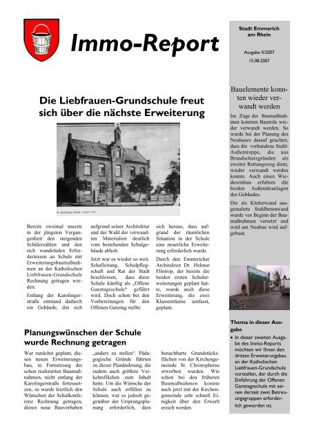Immo-Report 2/2007 - Emmerich