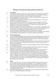 Algemene inkoopvoorwaarden Slochteren - TenderGuide