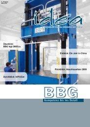 BBG Idea - März 2010 - BBG GmbH & Co. KG