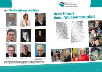 Beste Friseure Baden-Württembergs gekürt - Fachverband Friseur ...