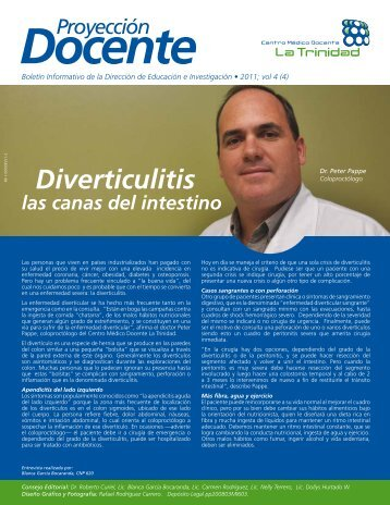 Diverticulitis - Centro Médico Docente La Trinidad